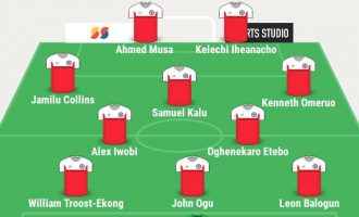 Iheanacho, Iwobi make Rohr's list for South Africa match