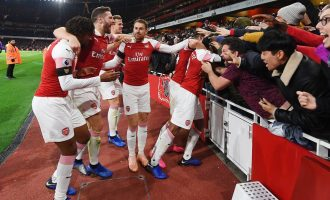 Nigerians in action as Arsenal face Napoli, Villarreal draw Valencia in UEL quarter-finals