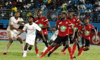 Lobi Stars edge 10-man Rangers to lift NFF Super Cup
