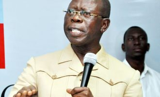 Oshiomhole returns, reveals why he was quizzed by DSS