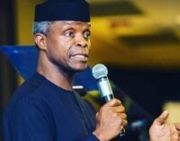Osinbajo: Nigeria's VAT still low compared to other African countries'