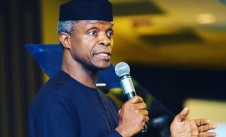 Osinbajo: Elite have ganged up against Buhari