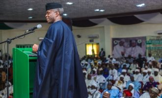 IN FULL: The house of reps report indicting Osinbajo