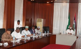Govs tight-lipped after meeting Buhari over proposed N30k minimum wage