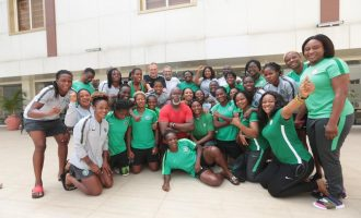 Pinnick to Falcons: Retain AWCON title, get $10K each