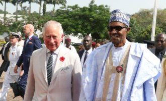 VIDEO: Prince Charles arrives Nigeria, meets with Buhari in Aso Rock