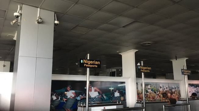 Passengers stranded as power outage hits Lagos international airport