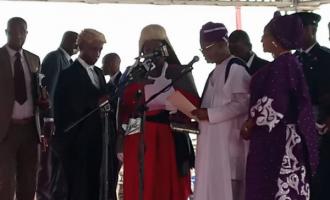 Oyetola sworn in as Osun governor