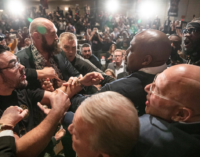 Heavyweight boxing: Wilder and Fury clash at press conference