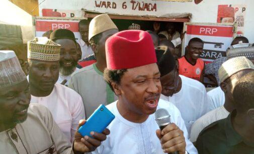 Shehu Sani launches re-election bid, names Igbo man as campaign DG