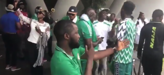 AFCON: Nigerians cheering Super Eagles ahead of S'African clash