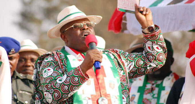 EXTRA: Umahi bars two journalists from state functions 'for life'