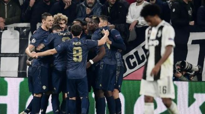 UCL: Man United upset Juventus as City, Real Madrid win big