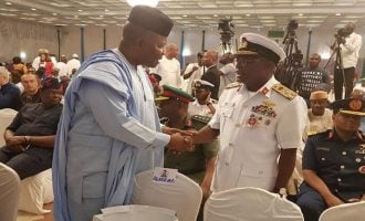 Atiku campaign fumes: Why did service chiefs attend Buhari's campaign kick-off?