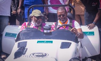 Akeredolu lauds Motorsports, Work and Play