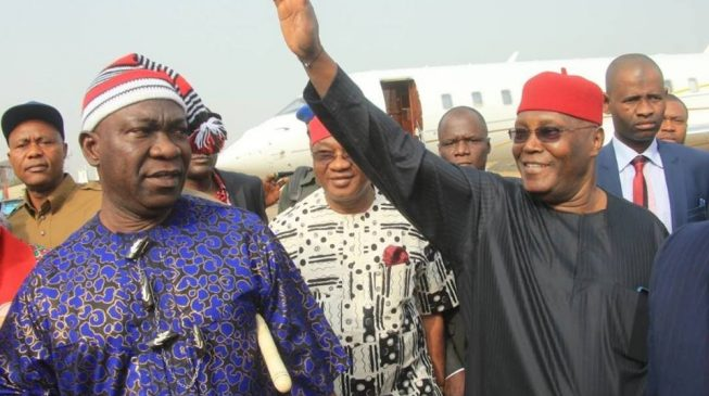 ICYMI: Atiku visits Ekweremadu 'to seek support for Obi'
