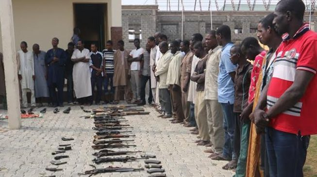 Police: 97 suspects charged to court over Kaduna crisis