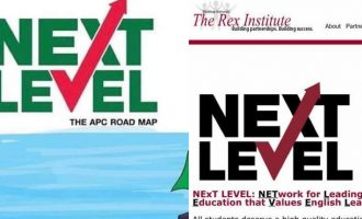 Buhari's 'Next Level Logo': Plagiarism is just a word