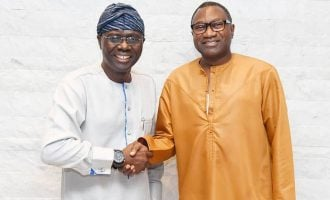 'He's my childhood friend' — Otedola endorses Sanwo-Olu