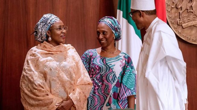 Buhari appoints wife into committee on elimination of drug abuse