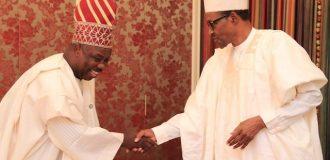 Buhari hosts Amosun in Aso Rock