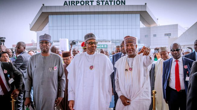 Atiku's aide: Buhari taking credit for PDP projects
