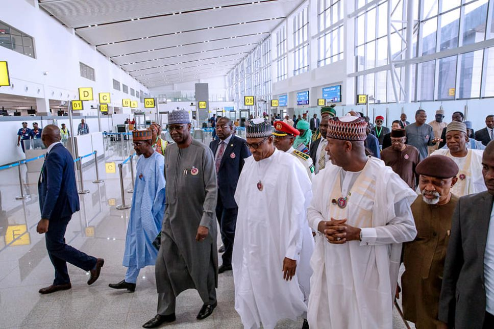 Buhari inaugurates new terminal building of Abuja International Airport
