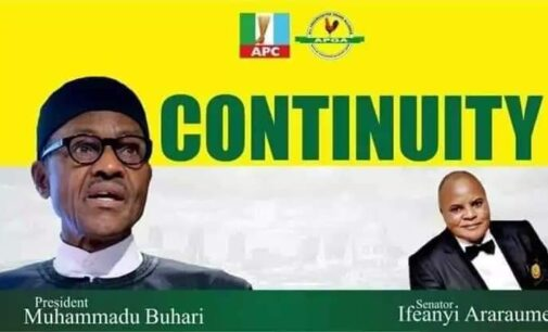 EXTRA: APGA, ADP candidates getting 'campaign help' from Buhari