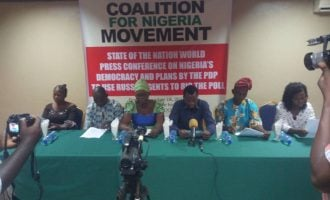 Coalition says PDP is partnering with Russia to rig presidential poll