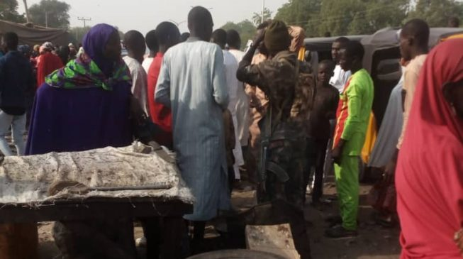 Many trapped as Boko Haram invades yet another village in Borno