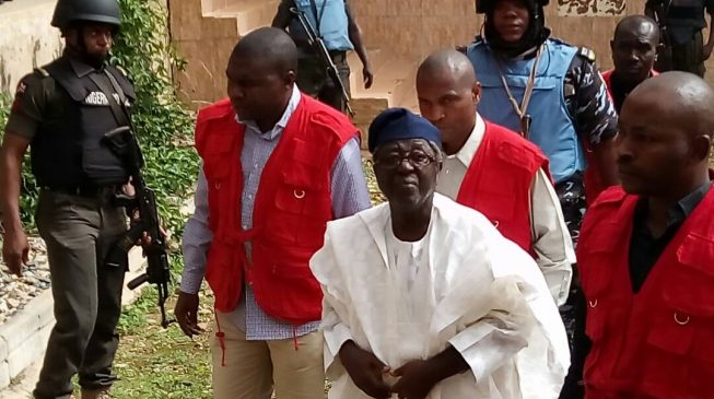 EFCC presents more evidence against Jang
