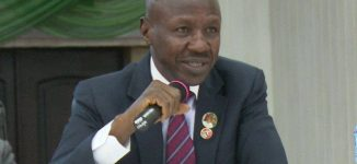 Pressure UK to release Diezani for trial, Magu tells Nigerians in diaspora