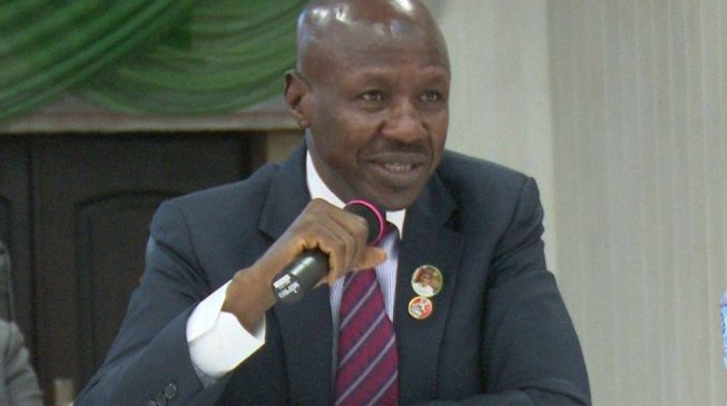 EXTRA: I strongly believe coronavirus is caused by corruption, says Magu