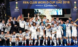 Hat-trick! Real Madrid win Club World Cup