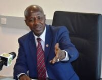 Magu to Salami panel: Summon Malami to provide evidence of corruption against me