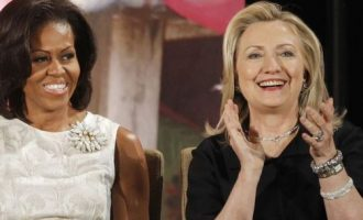 Michelle Obama displaces Hillary Clinton as America's most admired woman