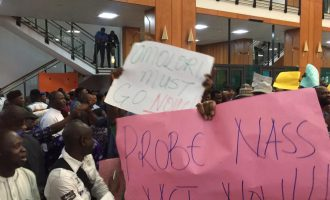 Picketing n'assembly is punishable by law, reps spokesman warns aggrieved workers