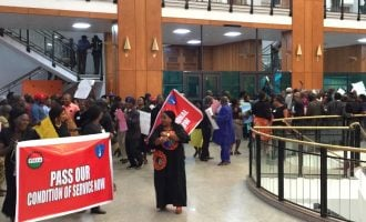 National assembly workers threaten to embark on indefinite strike