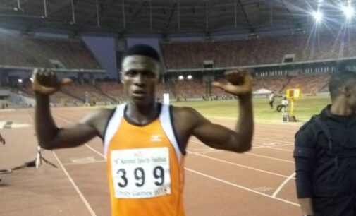 NSF: Ojei on cloud nine after claiming bronze in 400m