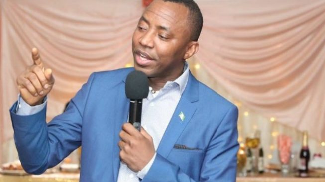 Lagos AAC rejects order removing Sowore as party chairman
