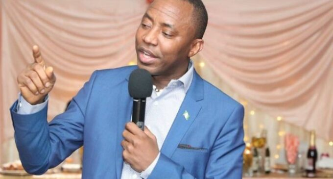 INEC recognises Sowore as AAC chairman, faults his suspension