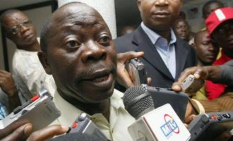 Oshiomhole: Delta residents have weakened PDP's rigging machine