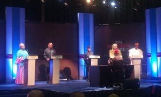 Osinbajo, Obi lock horns at vice-presidential debate