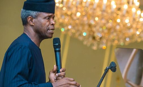 'I feel very sad' — Osinbajo breaks silence on Onnoghen