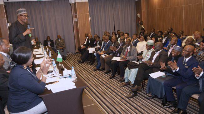 Buhari breaks silence on 'Jubril' rumours