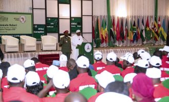 Buhari to African youth: War against corruption is yours to lead and win