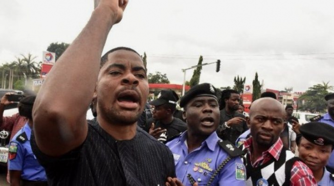 After arresting Adeyanju, the police still think they're not politicians?