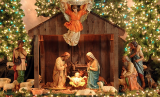 Christmas crib and the surprises of God