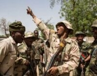 Army chief gives troops 48 hours to recapture areas under Boko Haram control