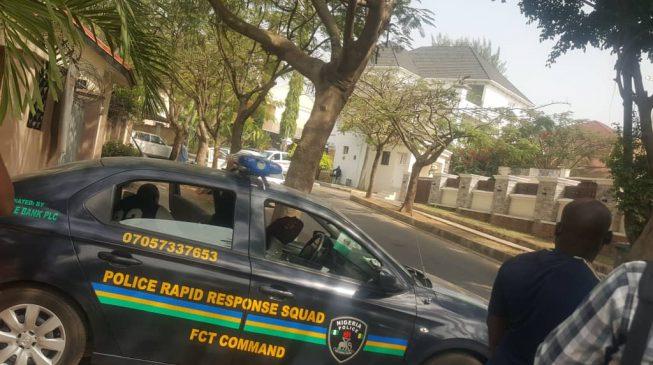 Police 'break into' Melaye's residence